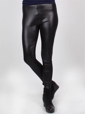 Frige - Sorte shiny leggings